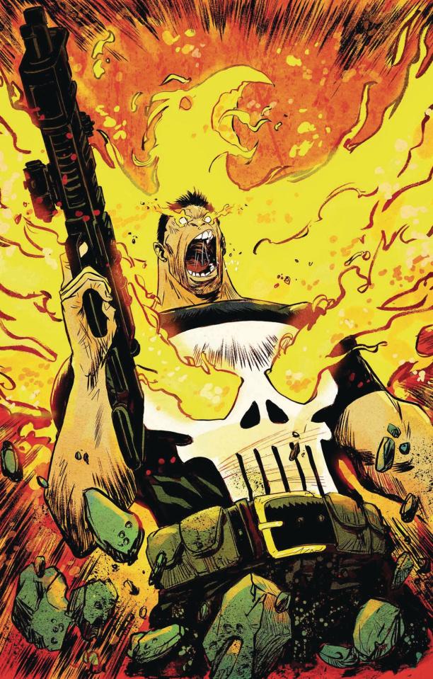 The Punisher #219 (Greene Phoenix Cover)