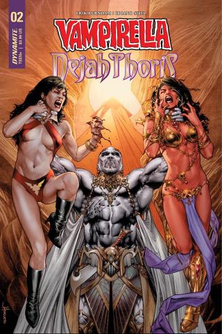 Vampirella / Dejah Thoris #2 (Anacleto Cover)