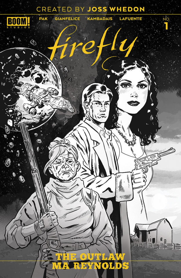 Firefly: The Outlaw Ma Reynolds #1 (25 Copy Walsh Cover)