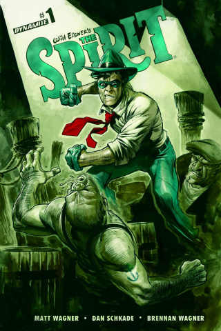 The Spirit #1 (Powell Cover)