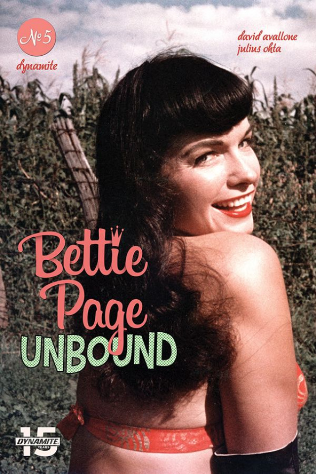 Bettie Page: Unbound #5 (Photo Cover)