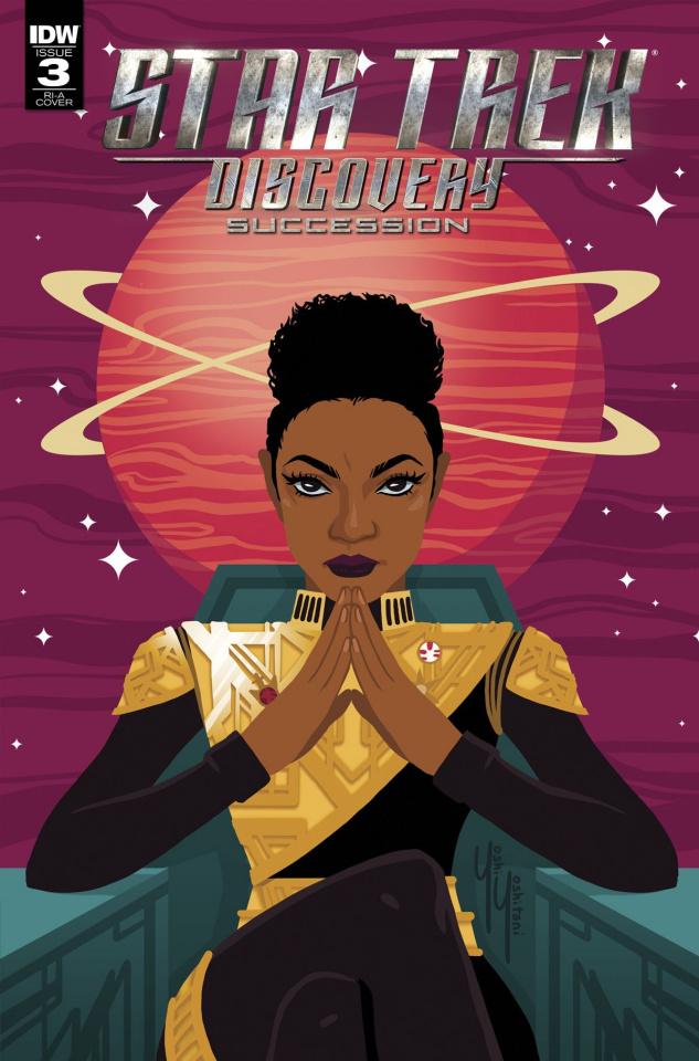Star Trek: Discovery - Succession #3 (Hernandez Cover)