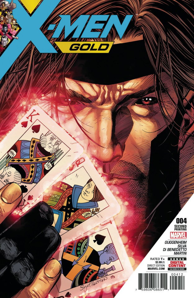 X-Men: Gold #4 (2nd Printing Syaf Cover)