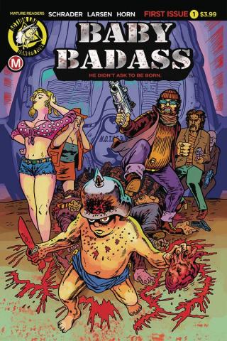 Baby Badass #1 (Larsen Cover)