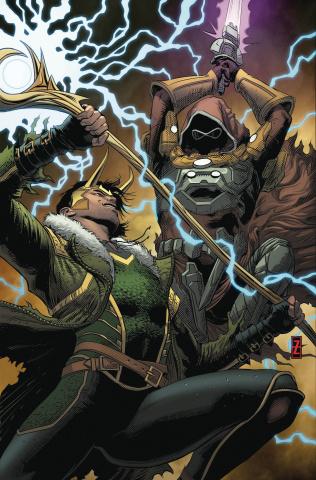 Infinity Wars #3 (Zircher Cover)