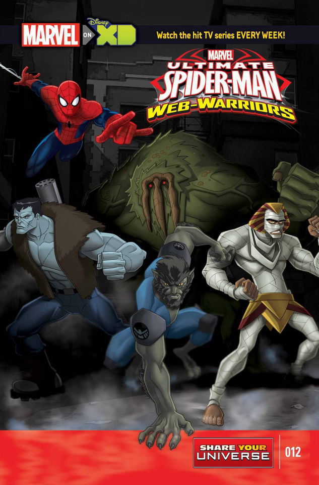 Marvel Universe: Ultimate Spider-Man - Web Warriors #12
