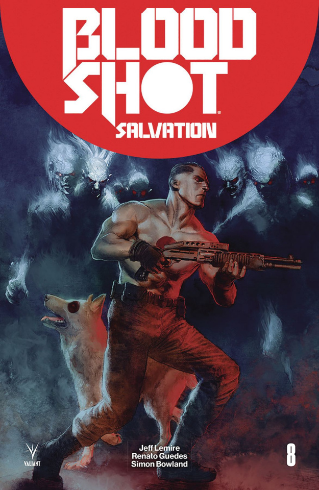 Bloodshot: Salvation #8 (Guedes Cover)