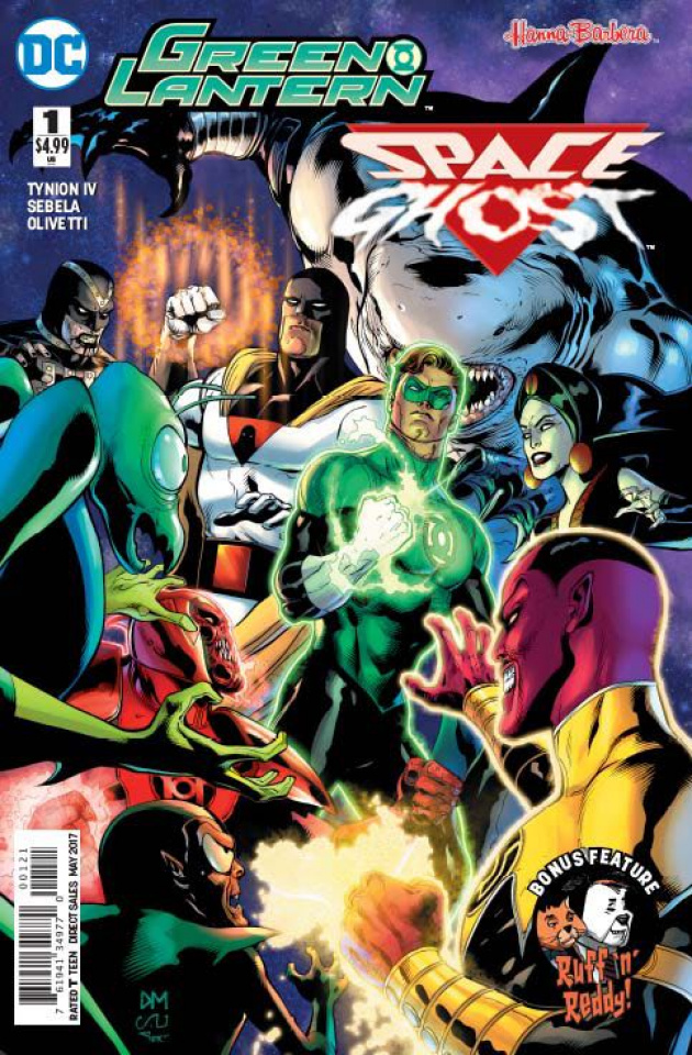 Green Lantern / Space Ghost Special #1 (Variant Cover)