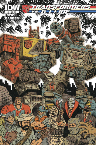 Transformers vs. G.I. Joe #2 (Subscription Cover)