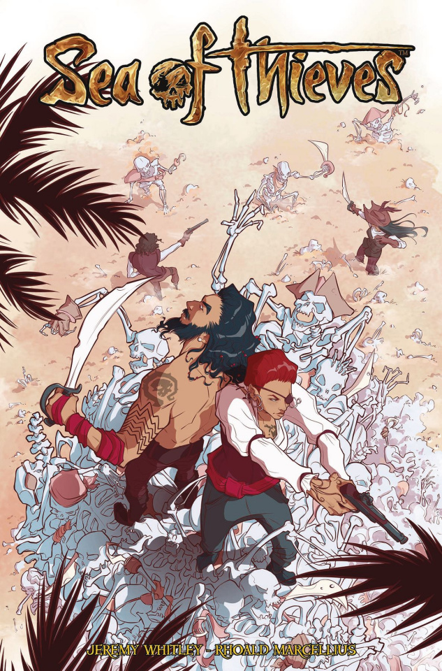 Sea of Thieves #3 (Zanfardino Cover)
