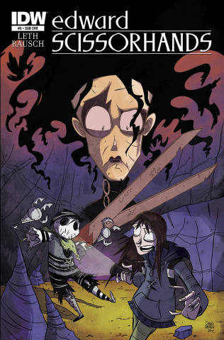 Edward Scissorhands #5 (Subscription Cover)