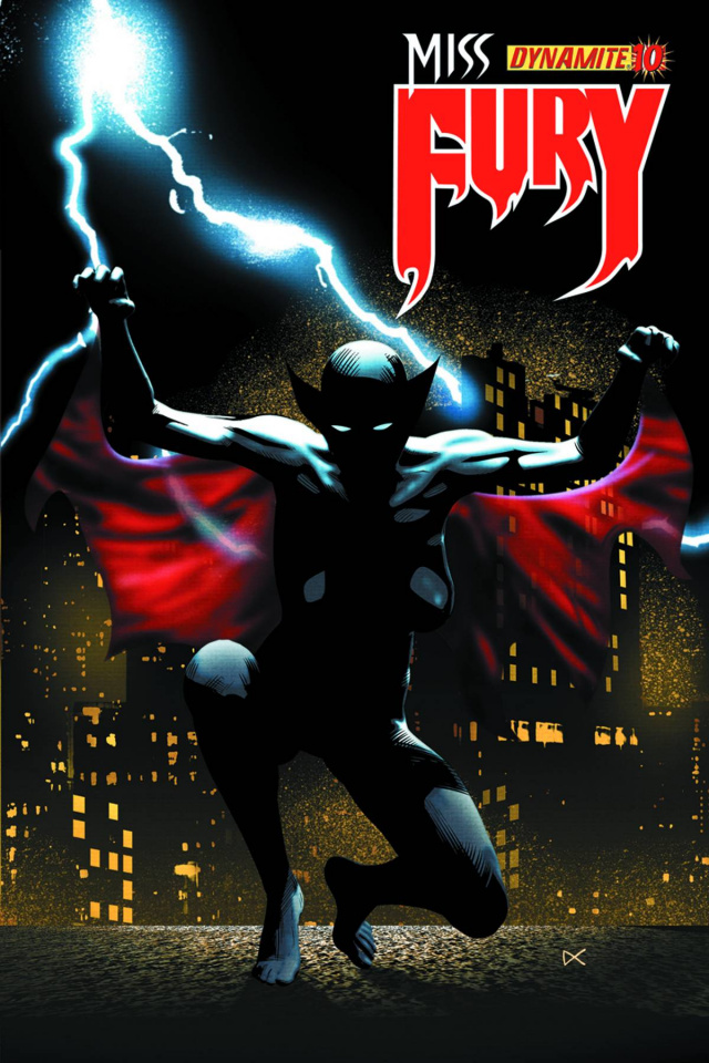 Miss Fury #10 (Calero Cover)