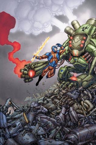 X-O Manowar #37 (20 Copy Portela Cover)