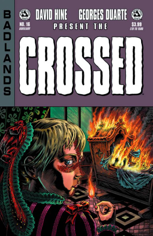 Crossed: Badlands #16 (Auxiliary Cover)