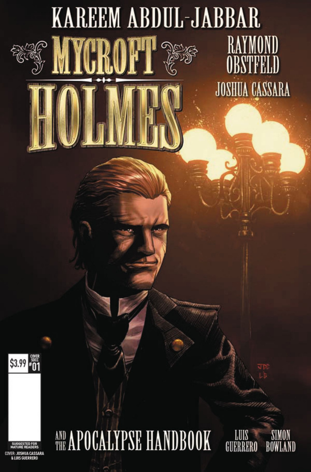 Mycroft Holmes #1 (Convention Cover)