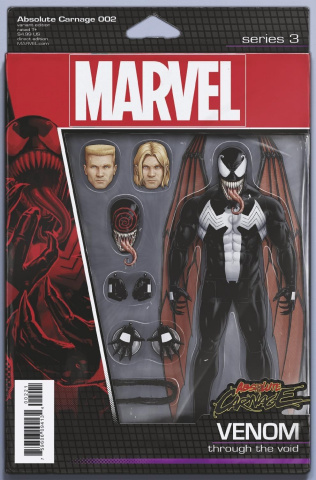 Absolute Carnage #2 (Christopher Action Figure Cover)