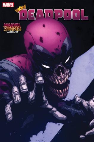 Deadpool #6 (Pham Marvel Zombies Cover)