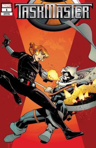 Taskmaster #1 (Henderson Cover)