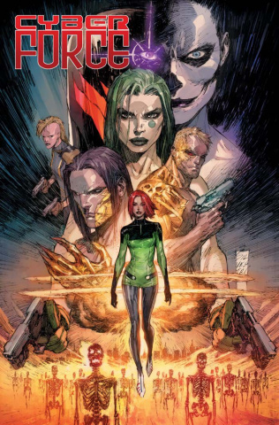 Cyber Force #1 (Silvestri Cover)