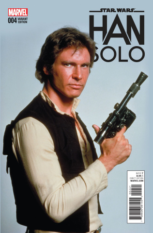 Star Wars: Han Solo #4 (Movie Cover)