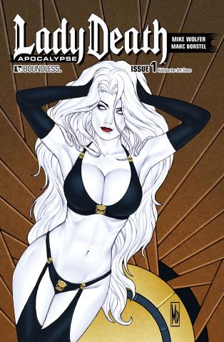Lady Death: Apocalypse #1 (Kickstarter Art Deco Cover)