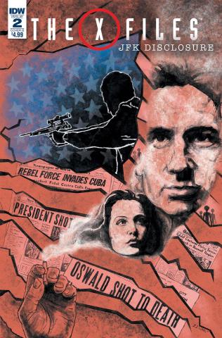 The X-Files: JFK Disclosure #2 (Lendl Cover)