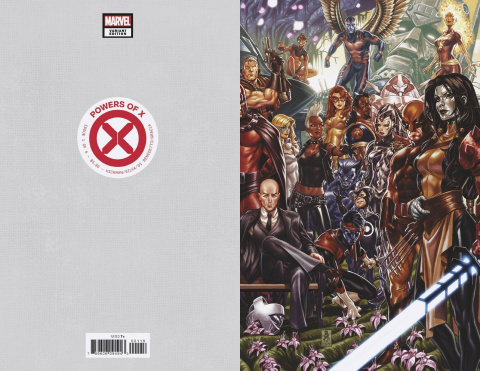 Powers of X #1 (Brooks Virgin Connecting Cover)