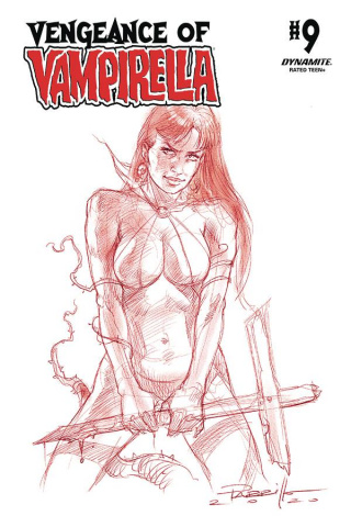 Vengeance of Vampirella #9 (30 Copy Parrillo Tint Cover)