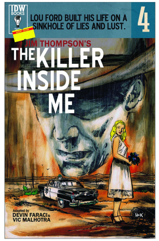 The Killer Inside Me #4 (Subscription Cover)