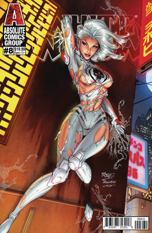 White Widow #8 (Royle Lenticular Cover)