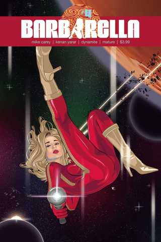 Barbarella #4 (Aseo Cover)