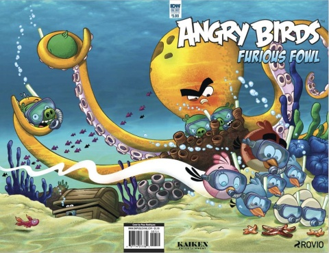 Angry Birds: Furious Fowl (Rodriques Cover)