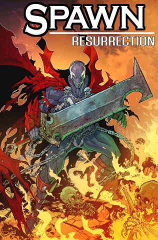 Spawn: Resurrection #1 (Jonboy Cover)