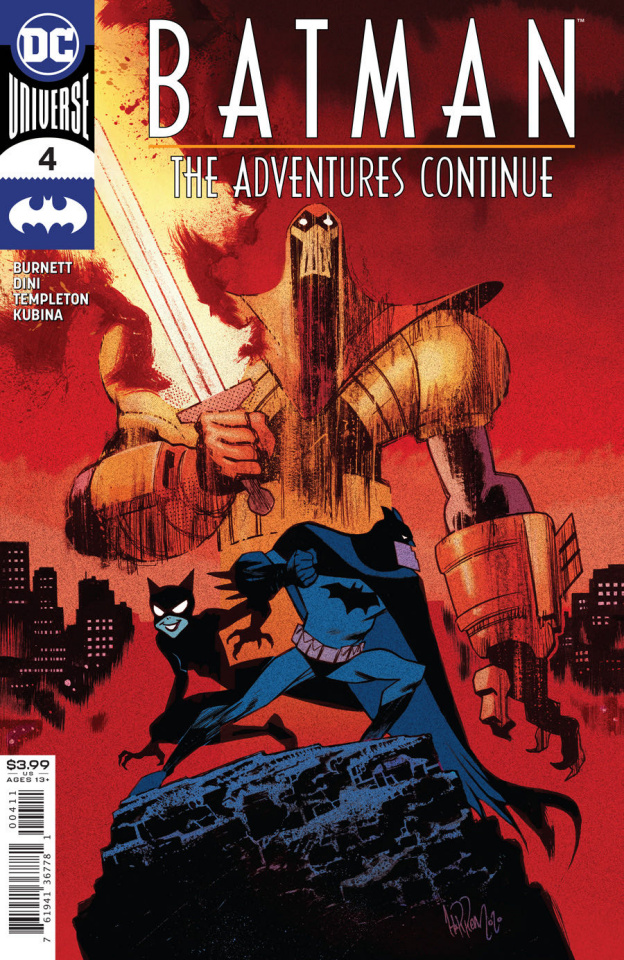 Batman: The Adventures Continue #4 (James Harren Cover)