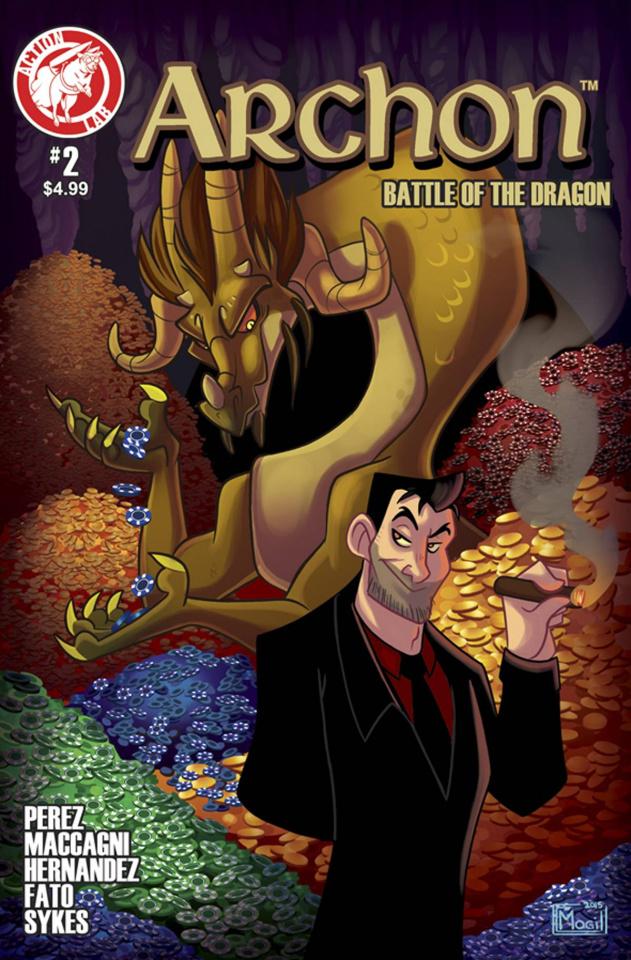Archon #2 (Gill Cover)