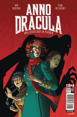 Anno Dracula #1 (McCaffrey Cover)