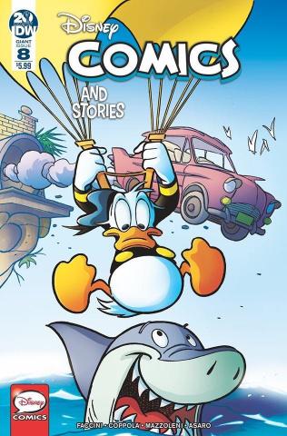 Disney Comics And Stories #8 (Freccero Cover)