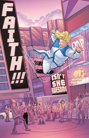 Faith #2 (10 Copy Eisma Cover)
