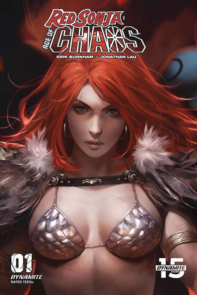 Red Sonja: Age of Chaos #1 (10 Copy Chew Sneak Peek Cover)
