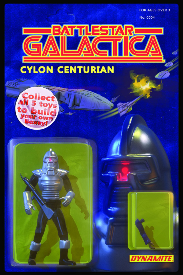 Battlestar Galactica #4 (Adams Action Figure Cover)