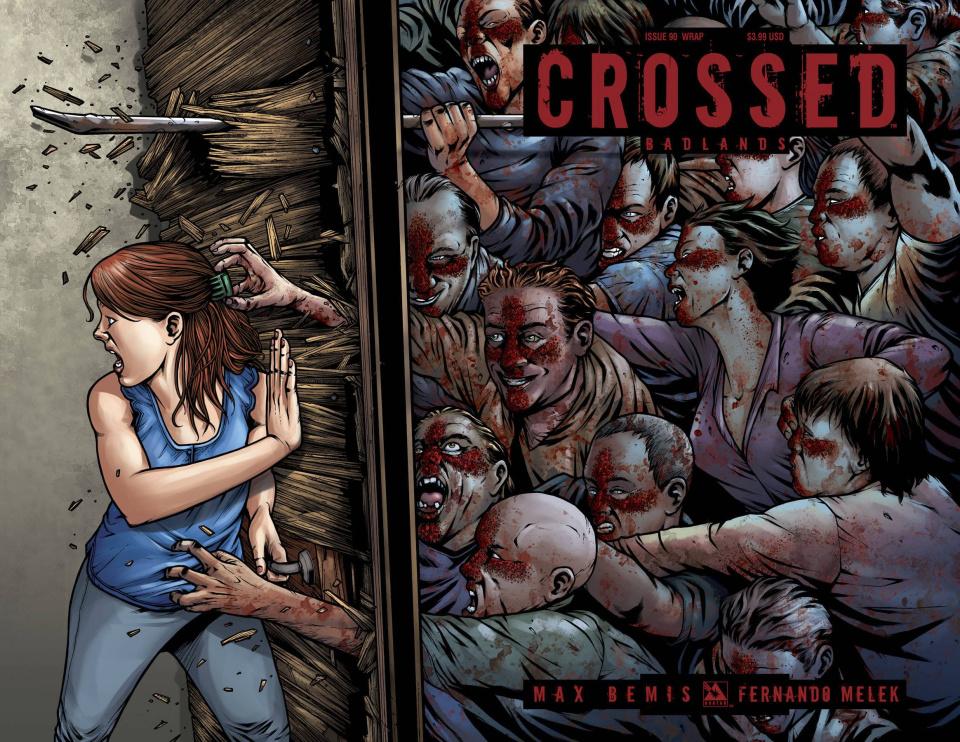 Crossed: Badlands #90 (Wrap Cover)