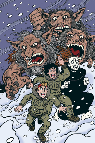 Bill & Ted Are Doomed #4 (Dorkin Cover)