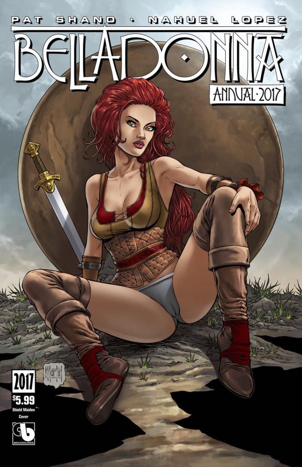 Belladonna Annual 2017 (Shield Maiden Cover)