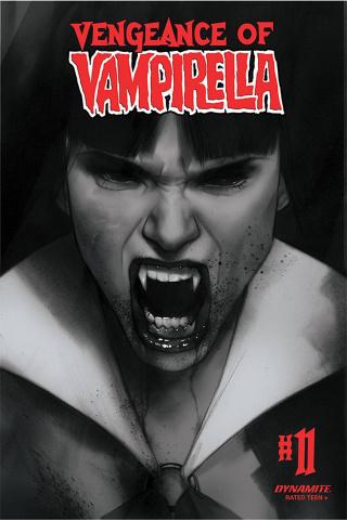 Vengeance of Vampirella #11 (30 Copy Oliver B&W Cover)