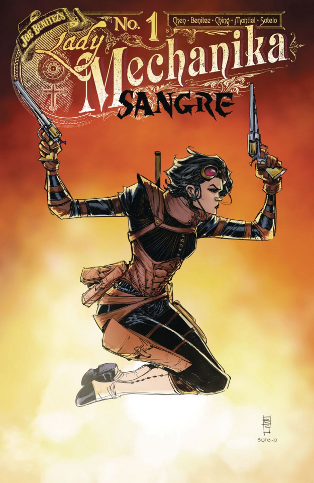 Lady Mechanika: Sangre #1 (10 Copy Benitez Cover)
