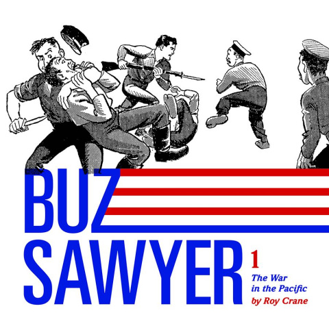 Buz Sawyer Vol. 1: The War in the Pacific