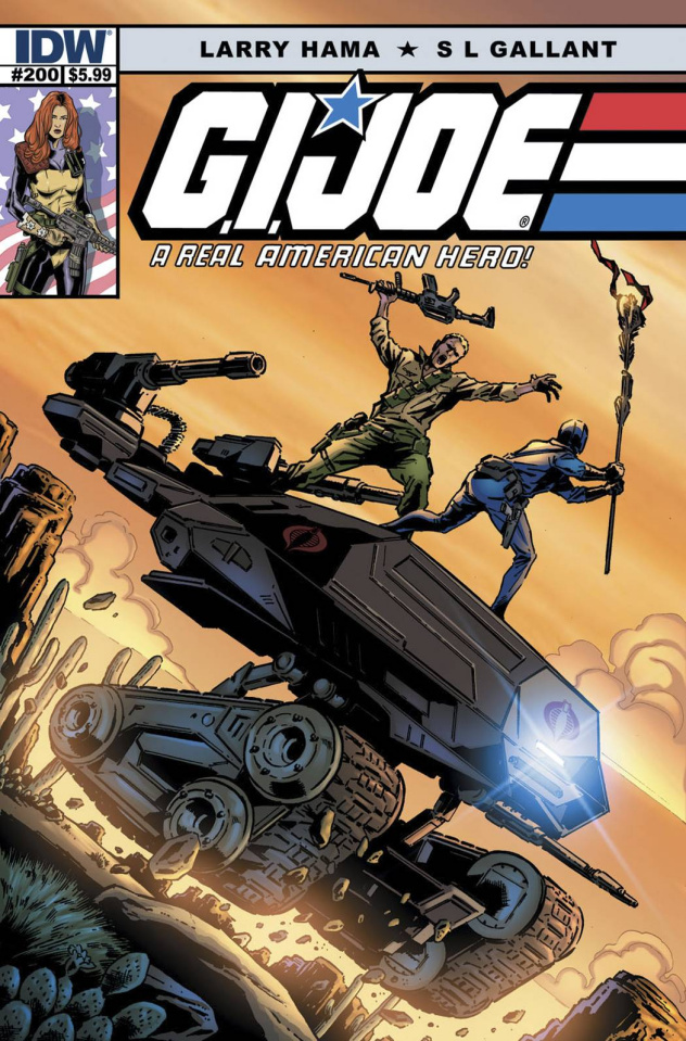 G.I. Joe: A Real American Hero #200