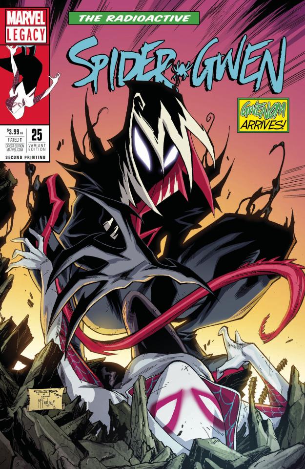 Spider-Gwen #25 (2nd Printing)