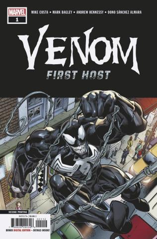 Venom: First Host #1 (Bagley 2nd Printing)
