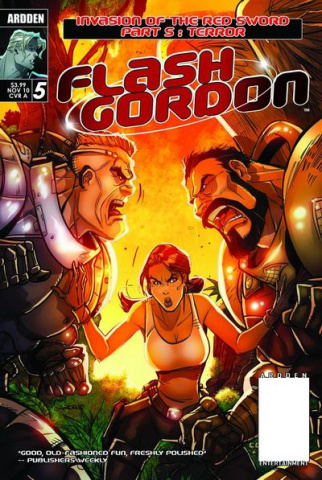 Flash Gordon: Invasion of the Red Sword #5